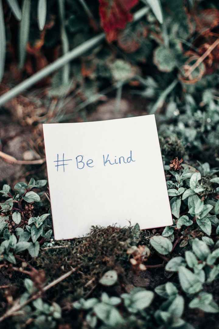 A little kindness goes a longway!